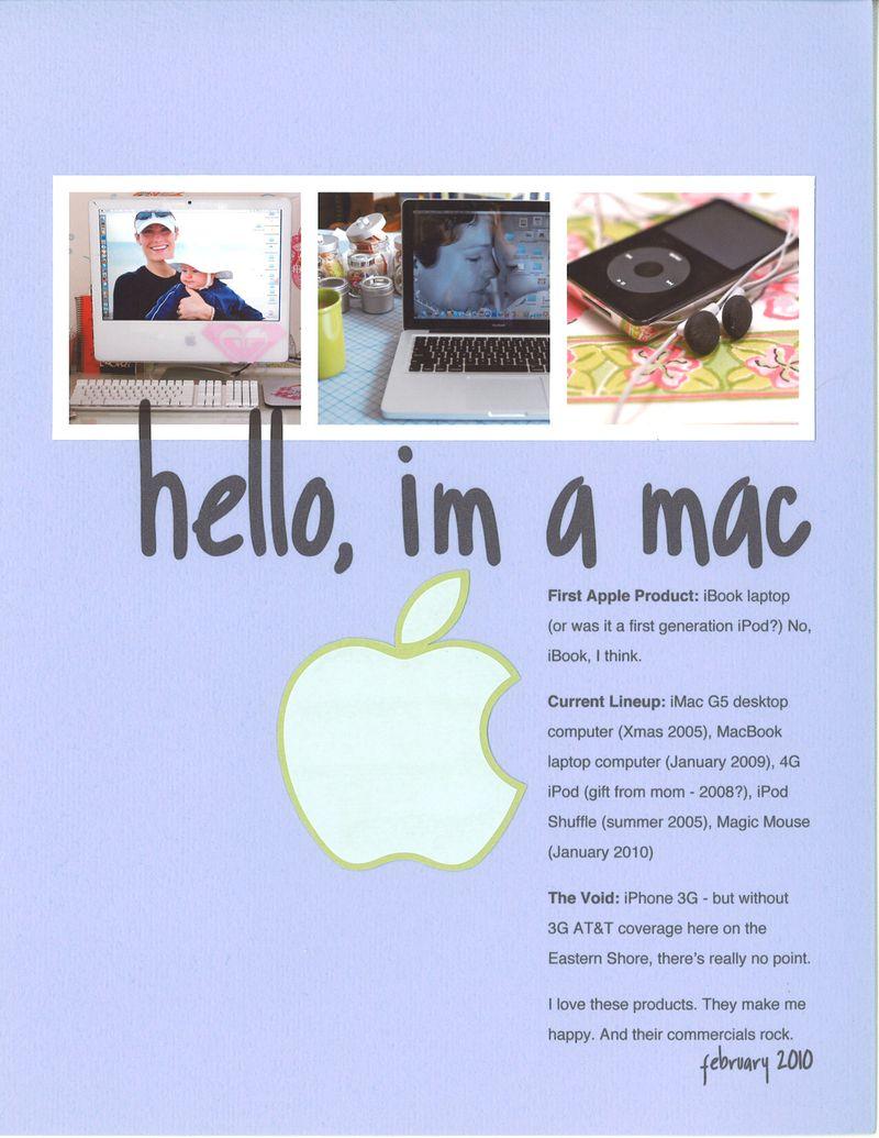Hello I'm A Mac