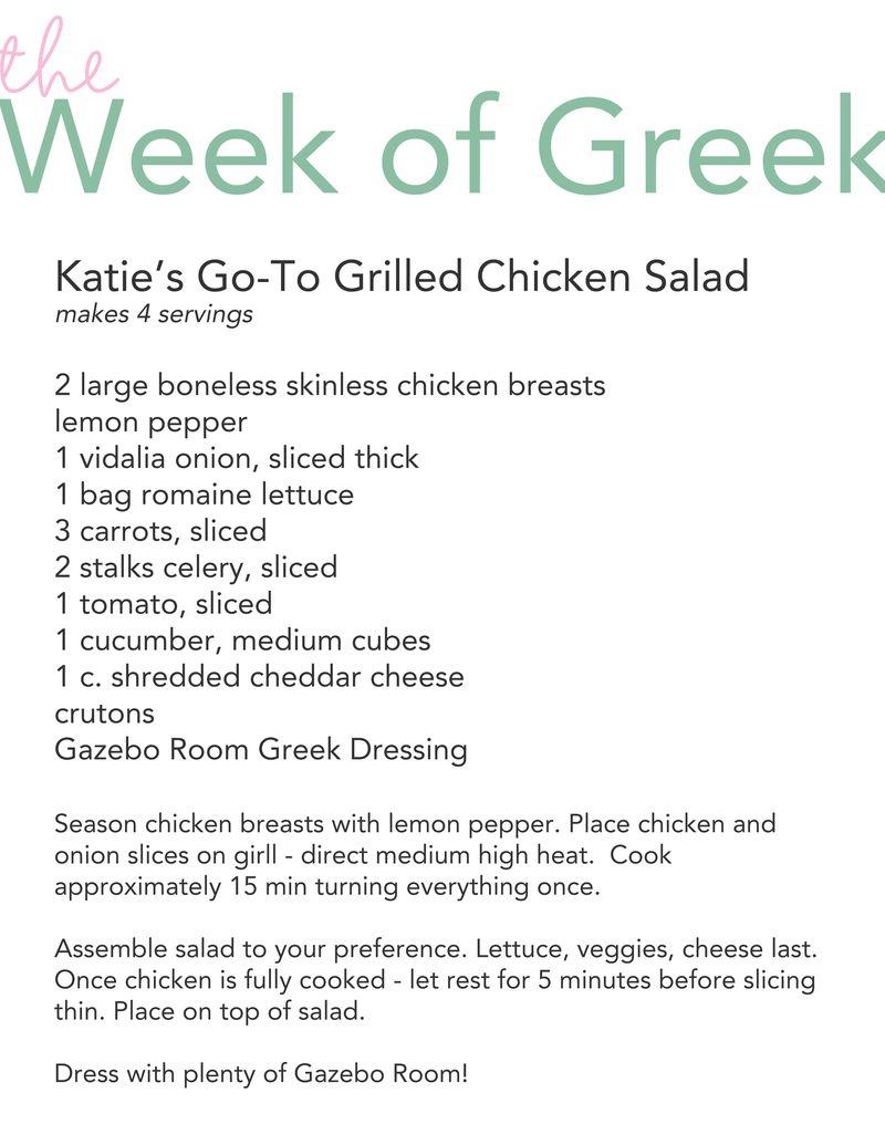 Go-To Chicken Salad
