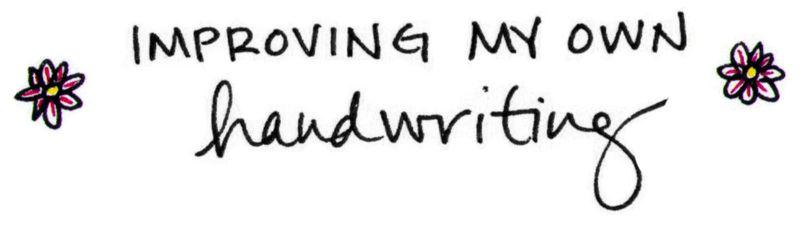 Handwriting sample