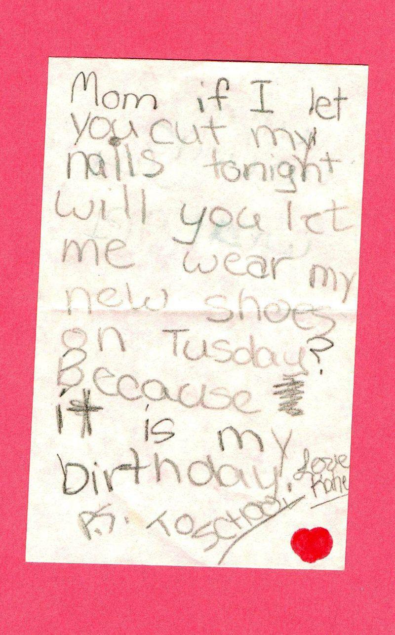 Katie's note-1