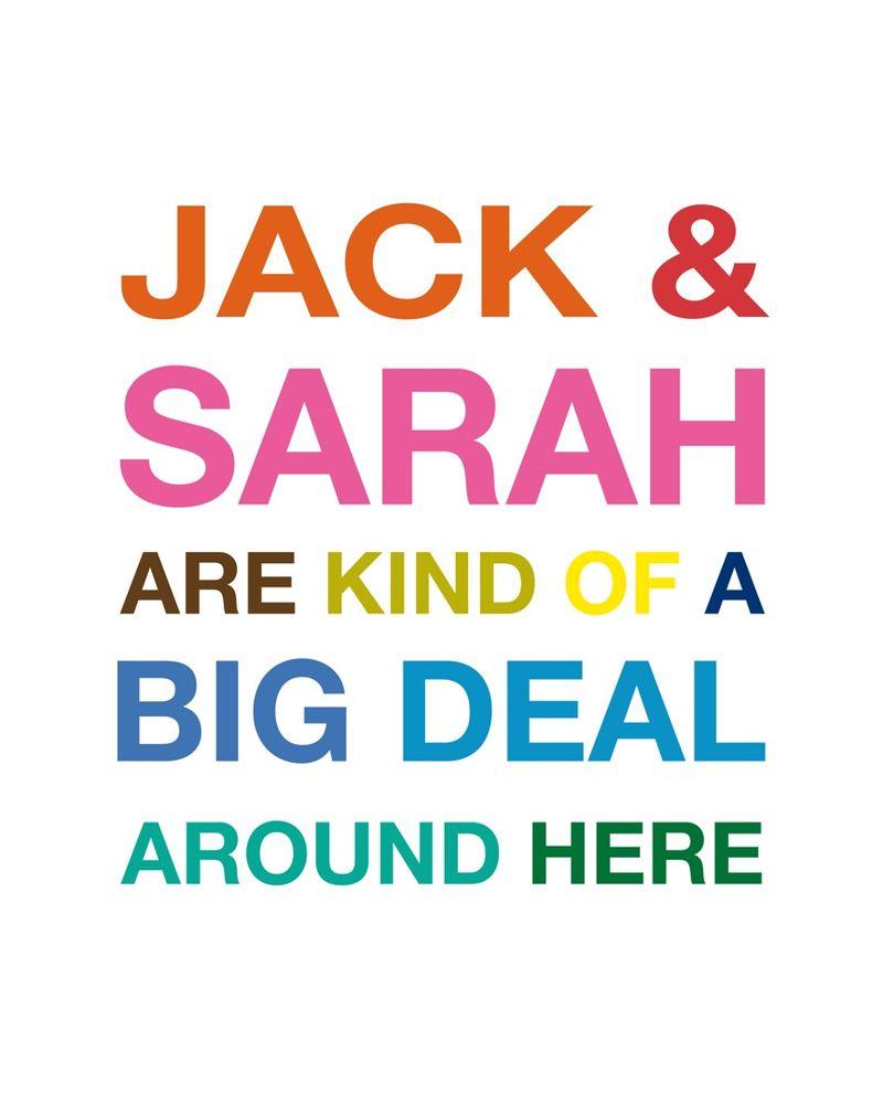 JACK & SARAH Helvetica Neue