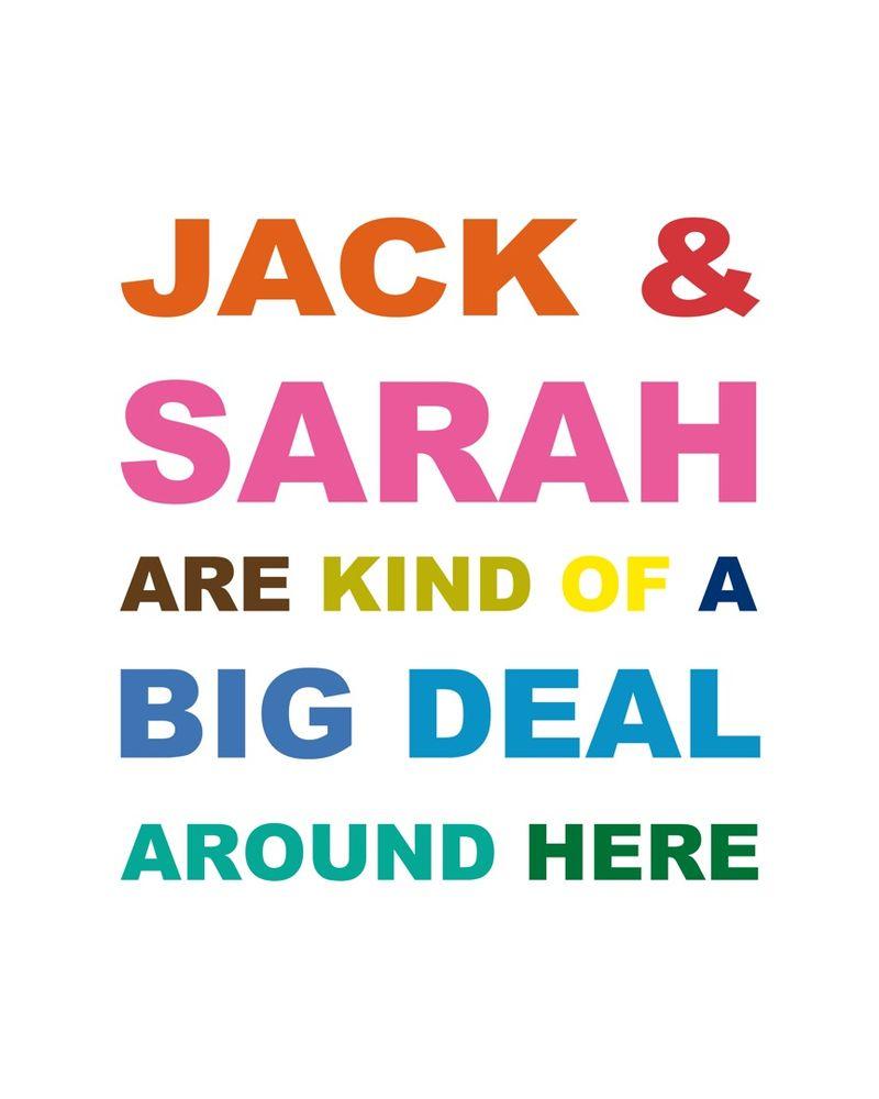 JACK & SARAH Arial
